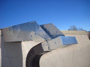 6-inch galvanized steel CanaleCatcher